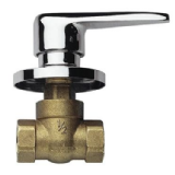 Chrome Concealed / Built In Lever Valve 1/2 inch - 58000020